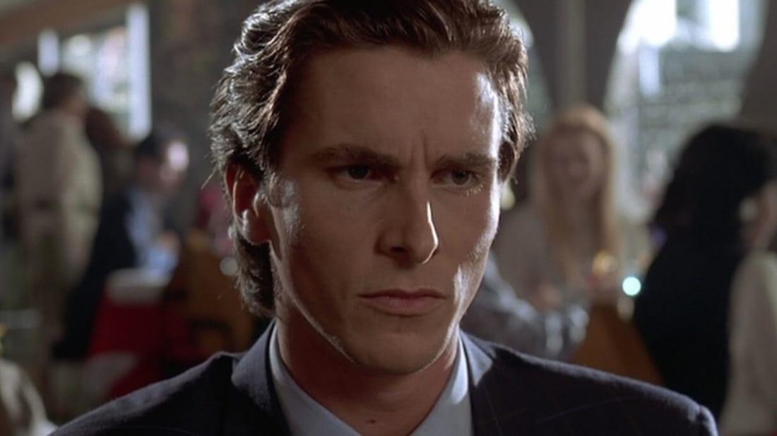 Christian Bale en Patrick Bateman